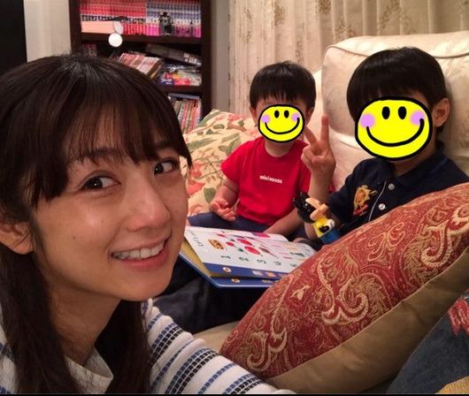 小倉優子が息子たちとの写真を公開!「もろすっぴん」「年の離れたお ...