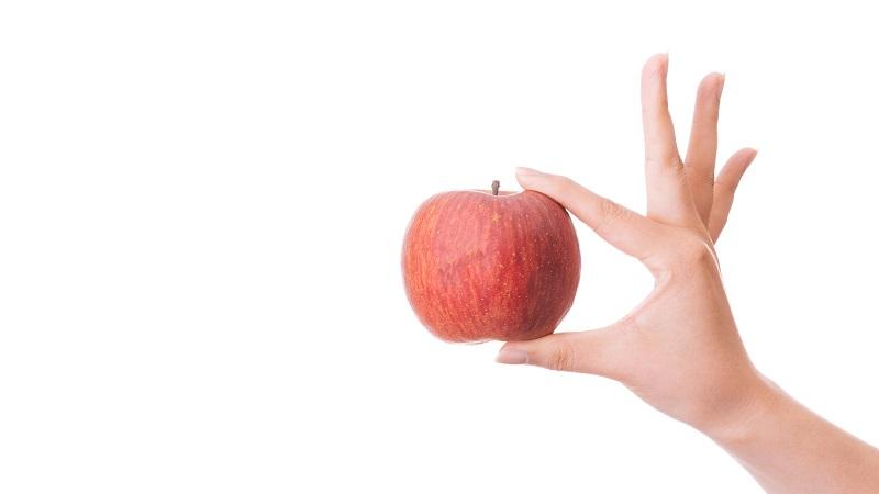 りんご 口臭