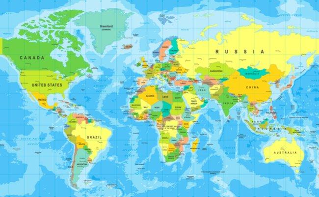 日本はなぜ「極東」なのか?「スタンダード世界地図」のススメ ...